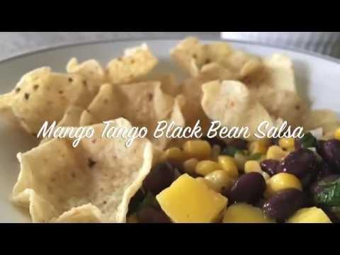 Mango Tango Black Bean Salsa