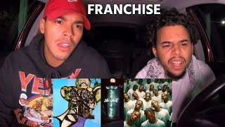 Travis Scott ft. Young Thug & M.I.A. - FRANCHISE (Official Music Video) REACTION REVIEW