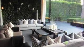 Beverly Hills Vertical Garden Installation
