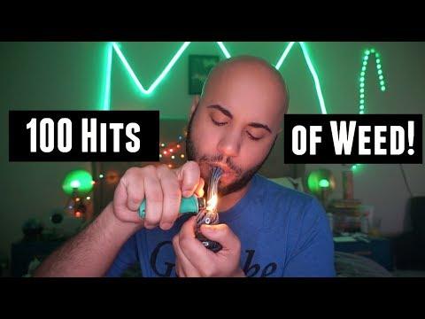 100 Hits Of Weed Challenge