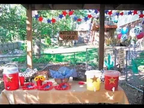 Western Party Decorations Ideas Youtube