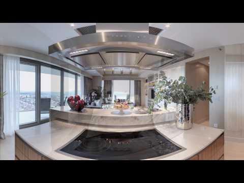 Raffles Istanbul Residence - Zorlu Center 360 Video