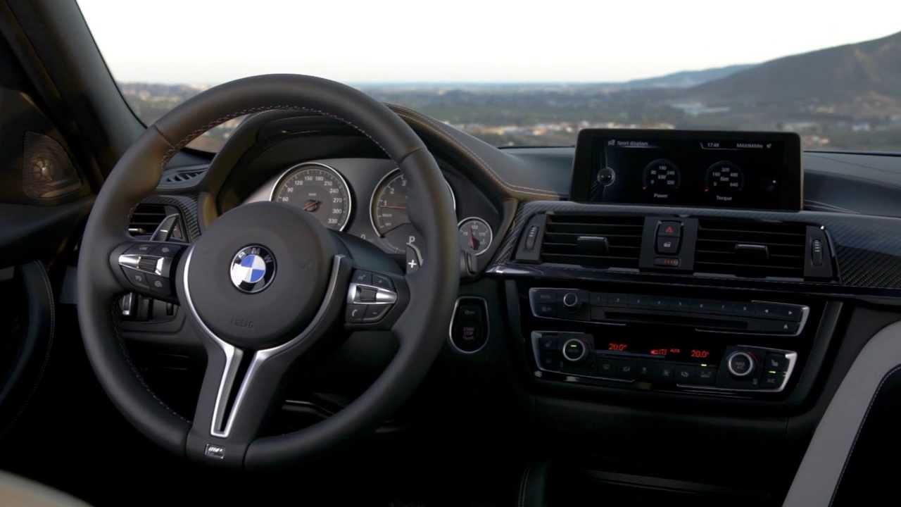 BMW M4 Coupe >> BMW M3 E80 Cockpit (Interieur Design) 2014 - YouTube
