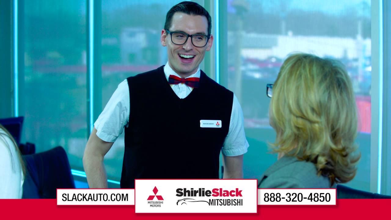 shirlie slack mitsubishi bobby commercial - no pressure - youtube