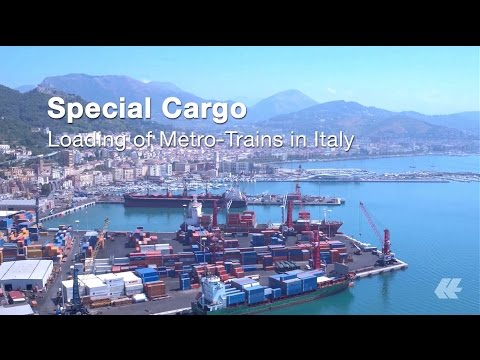 Hapag-Lloyd Special Cargo - Loading of Lima Metro Trains