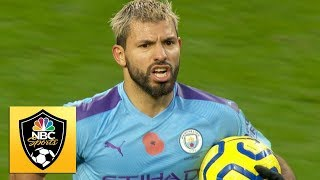 Sergio Agero brings Man City level v Saints  Premier League  NBC Sports