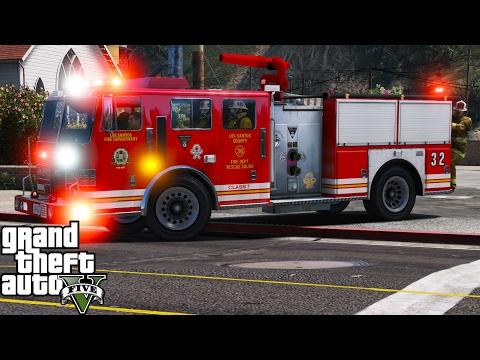 Fivem Gta Fire Truck Related Keywords & Suggestions - Fivem