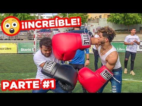 ¡El Último En Salir Del Círculo Gana $10,000! (Boxeo Challenge) PARTE 1