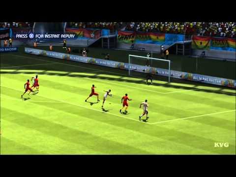 2014 FIFA World Cup Brazil - Germany vs Ghana Gameplay [HD]