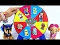 ROLETA SURPRESA Patrulha Canina Learn Colors Paw Patrol Toys Surprises Canal KidsToyShow