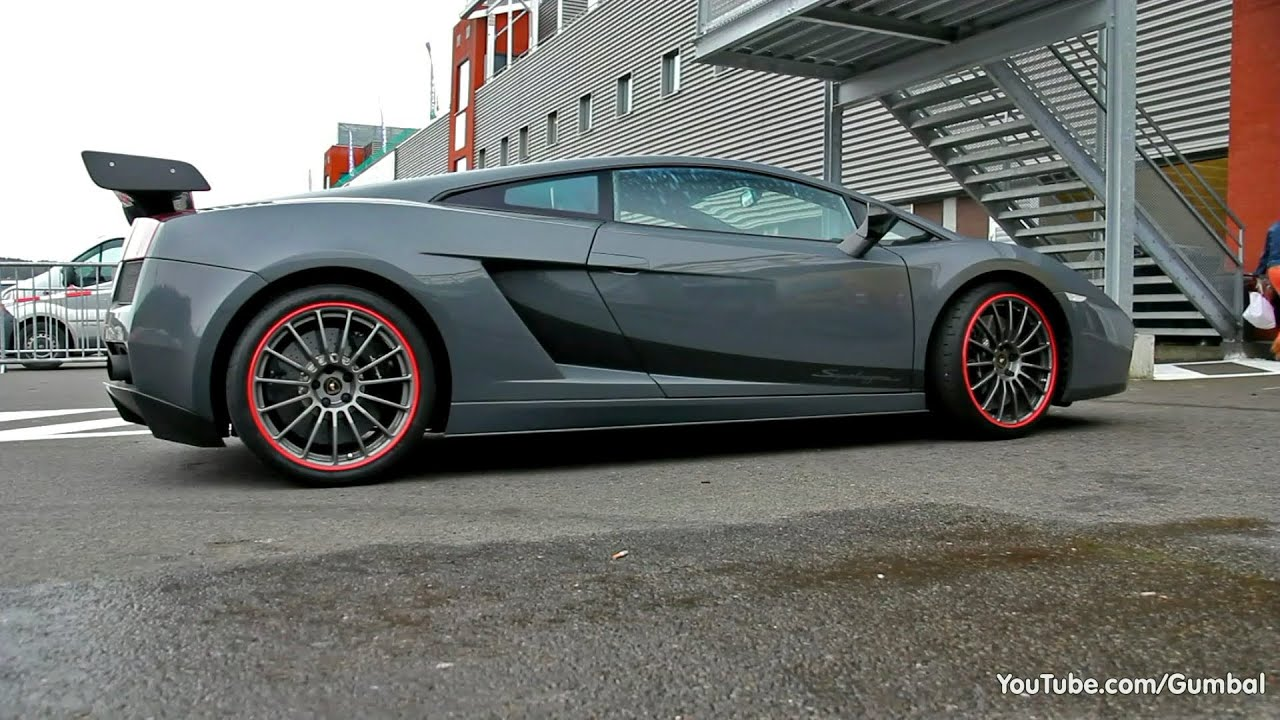 Lamborghini Gallardo Superleggera W Decatted Exhaust Youtube