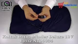 Koltuk Isıtıcı Minder Deluxe 12V Bosse NT00034