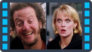 Блондинка вырубает Марвина и Гарри — «Один дома 2: Затерянный в Нью-Йорке» (1992) сцена 6/10 HD
