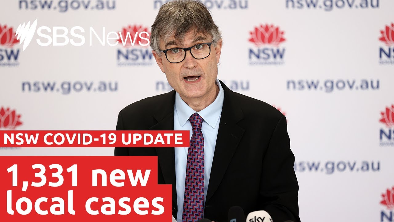 NSW records 1331 locally acquired COVID cases  SBS News