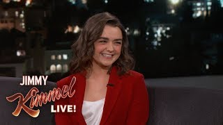 Download Maisie Williams Knows the End to Game of Thrones Mp3 and Videos