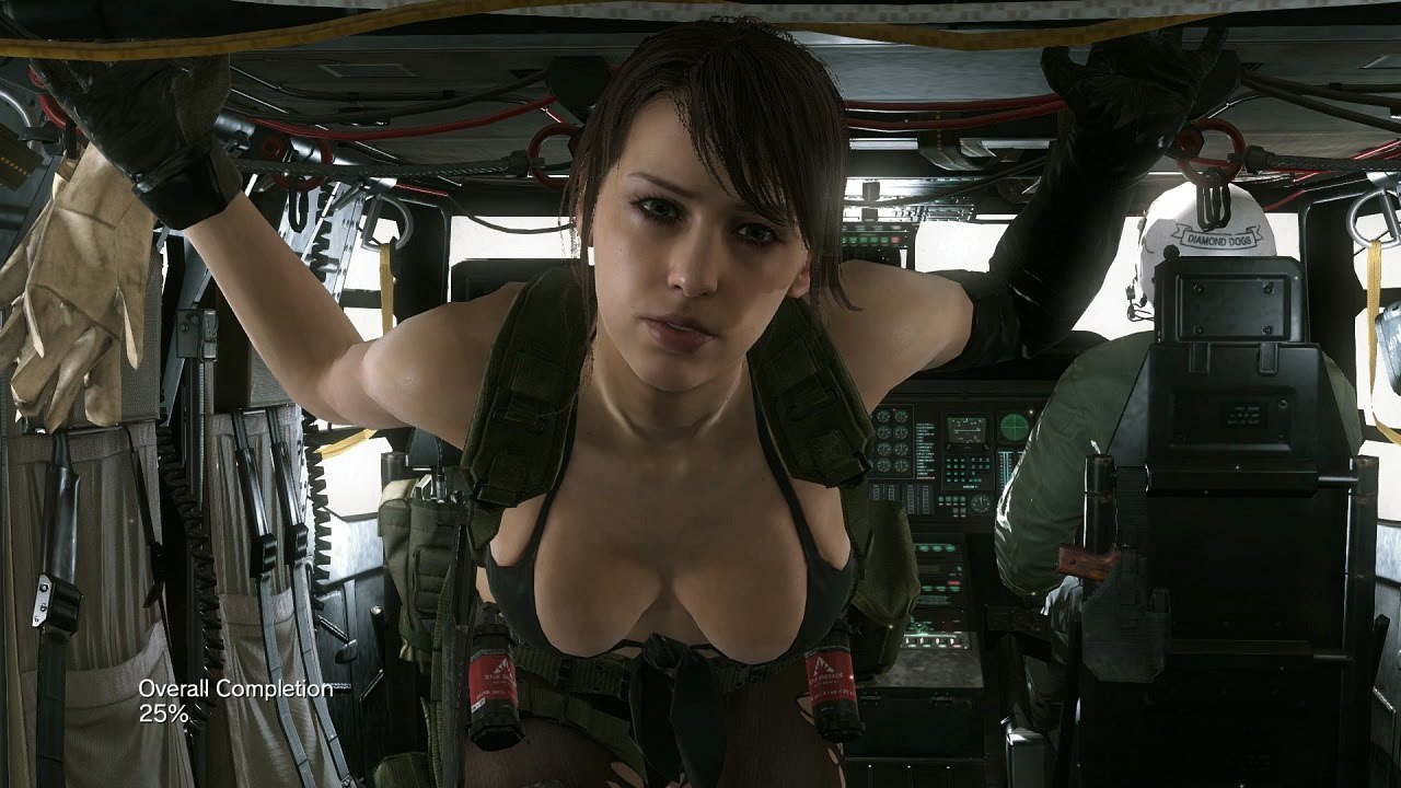 Quiet metal gear solid 5 nude