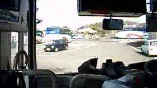 九州産交バス、八代営業所に到着