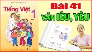 Tiếng việt lớp 1 Bài 40 Đánh vần âm IÊU YÊU  - Dạy Bé Học Bảng Chữ Cái Tiếng Việt