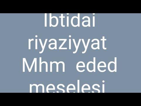 MİQ ibtidai sinif qəbul imtahanı | Riyaziyyat suallarının izahı | 24 avqust 2020-ci il.