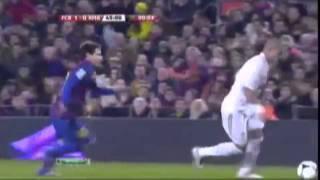 Месси отомстил Пепе / Lionel Messi avenged Pepe