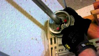 Broken Garage Door Spring Repair - 2 Of 3 ( Diy Fix Springs Snap Howto Replace)