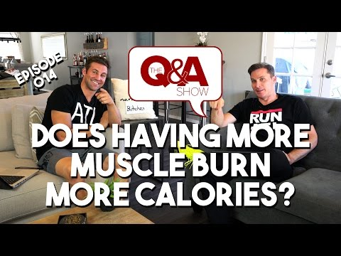 Does Having More Muscle Burn More Calories | #Q&AShow Episode 14