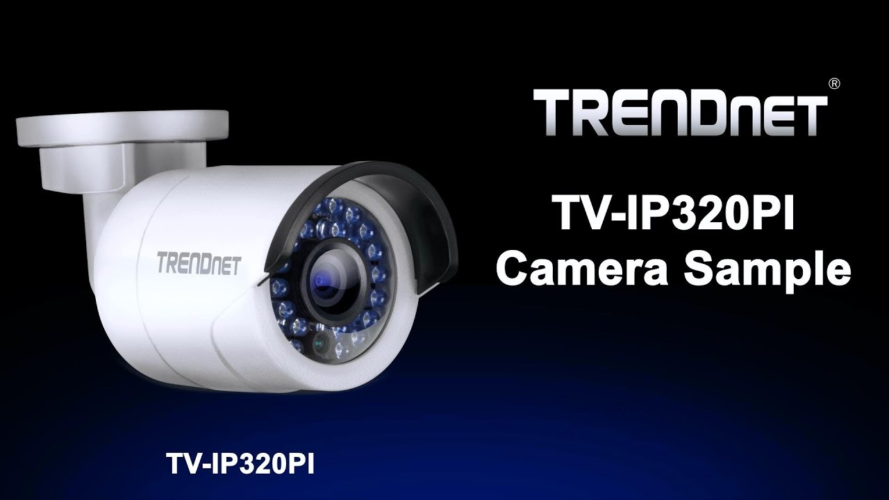 Indoor / Outdoor 1 3 MP HD PoE IR Network Camera - TRENDnet TV-IP320PI