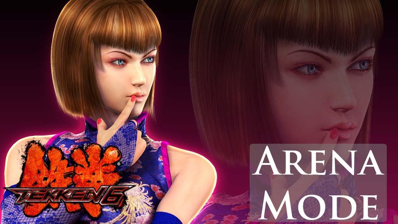 Tekken 6 Arena Mode Anna Williams Youtube