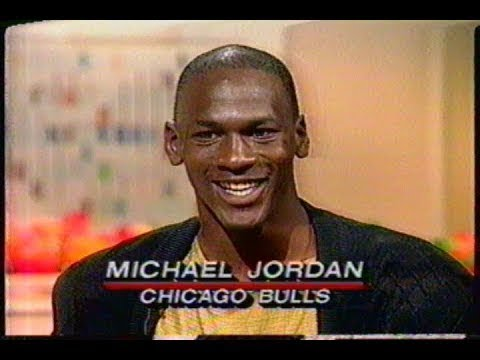 VERY RARE: Michael Jordan (Age 24) One On One Interview w/Bryant Gumbel (1987)