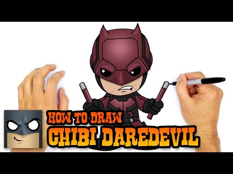 How to Draw Daredevil | Marvel Comics