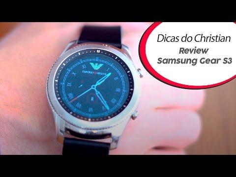 Samsung Gear S3 Review   Dicas do Christian 04