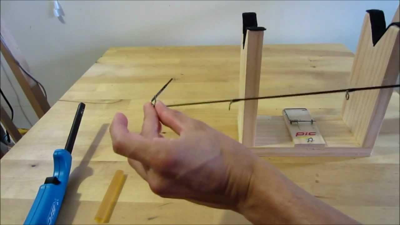 Repair a fishing rod tip youtube for Fishing pole repair