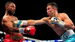 Gennady Golovkin vs Kell Brook - Highlights (Great Fight & KNOCKOUT)