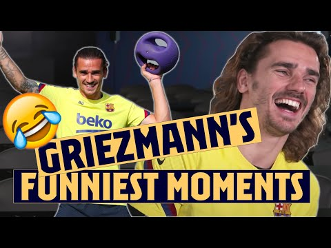 🤣ALL of ANTOINE GRIEZMANN funniest moments! 🤣