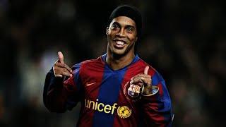 Ronaldinho Gaucho Best Dribbling Skills Ever
