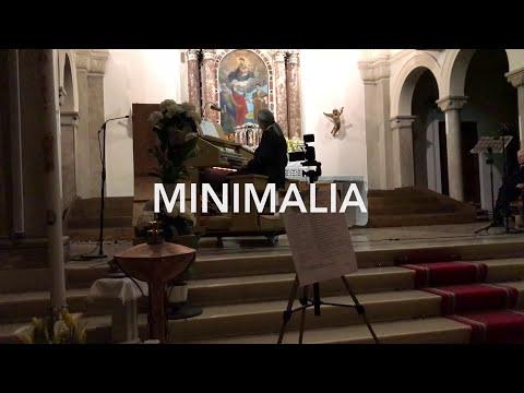 MINIMALIA per organo (solo pedaliera con l'aiuto delle mani)