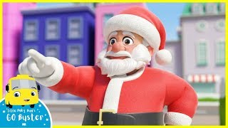 How Bandit Bus Stole Christmas | Go Buster | Baby Cartoons | Kids Videos | ABCs and 123s