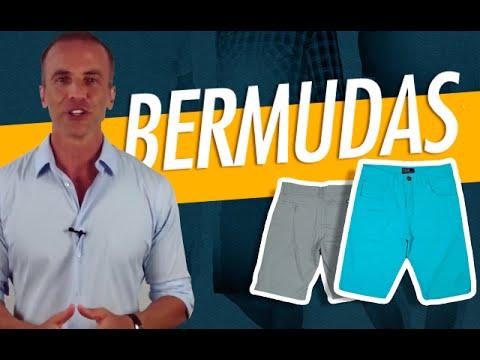 Bermuda - Como Usar Bermudas para Homens?