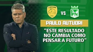 Leones 2-2 Nacional - Rueda de prensa Paulo Autuori, técnico de Nacional Liga Águila 2018-II