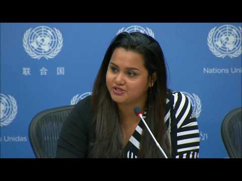"Inner City Press asked UNSG's Youth Envoy about Cameroon Net Cut & Sri Lanka, SG on ""Digital"""