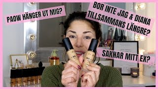 SVARAR PÅ 5 FRÅGOR! | MAKE UP TUTORIAL