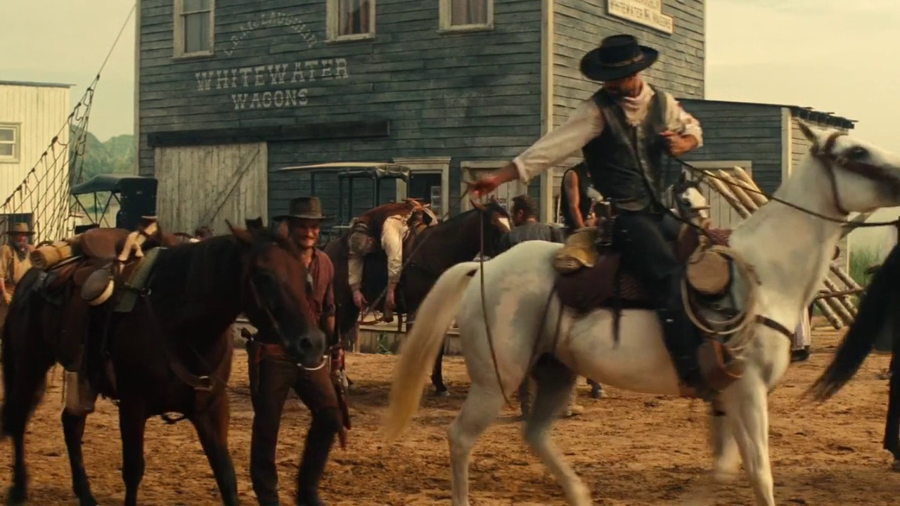 the magnificent seven 2016 ending scene with credits youtube. Black Bedroom Furniture Sets. Home Design Ideas
