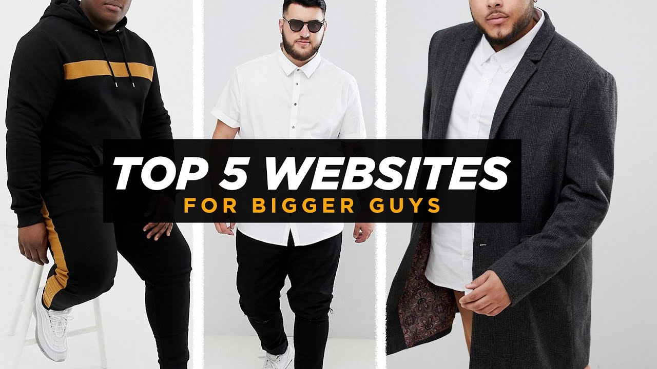 fc6ce74251 TOP 5 WEBSITES FOR BIG GUYS FASHION | Best Chubby Mens Style Sites |  StyleOnDeck