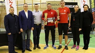 Decydujące mecze IV Turnieju Siatkonogi Open w Rzekuniu