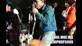 Kool Moe Dee Live At Harlem World 1981 (Busy Bee VS Kool Moe Dee Battle) Old School Hip Hop / Hiphop