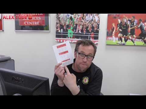 Manager Dave Artell's 2017/18 Season Ticket Message!