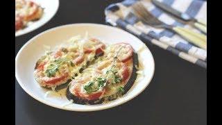 Вкусняшка на закуску Готовим Баклажаны под помидорами с сыром. Вкусный рецепт Пробуем и наслаждаемся