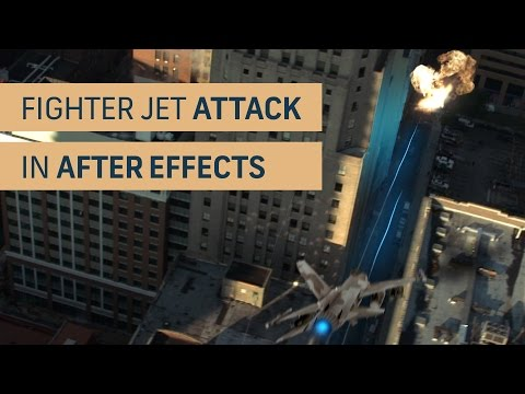 Fighter Jet Attack Tutorial in After Effects