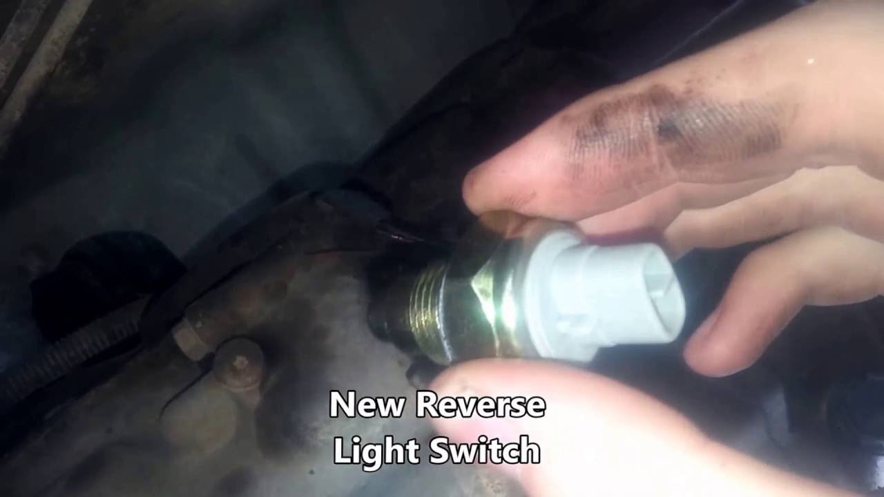 93 Toyota Pickup Reverse Light Switch Replacement YouTube