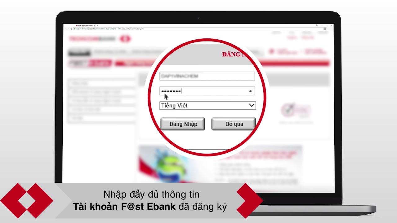 Hướng dẫn đăng nhập F@st Ebank (Dành cho doanh nghiệp)